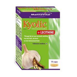 MannaVital Kyolic + Lecithine Capsules