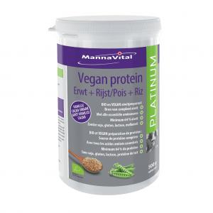 MannaVital Vegan Protein Platinum