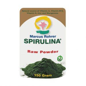 Marcus Rohrer Spirulina Raw Powder