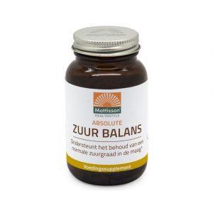 Mattisson HealthStyle Absolute Zuur Balans Tabletten