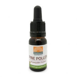 Mattisson HealthStyle Pine Pollen Dennenpollen Tinctuur Druppels