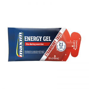 Maxim Energy Gel Strawberry