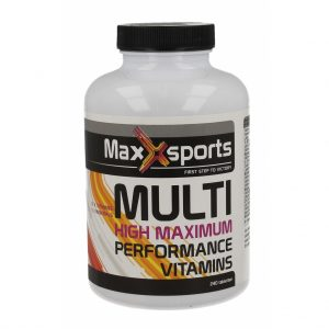 Maxx Sports Multi Vitamine High Maximum Tabletten 240st