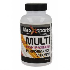 Maxx Sports Multi Vitamine High Maximum Tabletten 90st