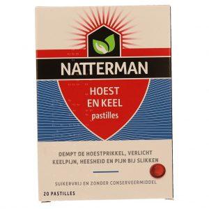 Natterman Hoest en Keel Pastilles