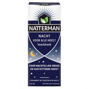 Natterman Hoestdrank Voor Alle Hoest Nacht