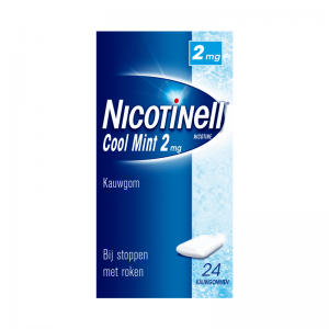 Nicotinell Cool Mint Kauwgom