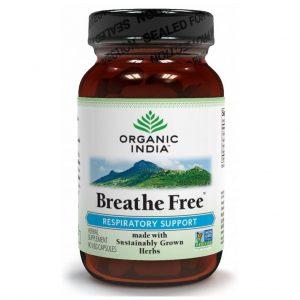 Organic India Breathe Free Vegicaps