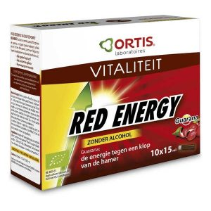 Ortis Red Energy Alcoholvrij 10x15ml