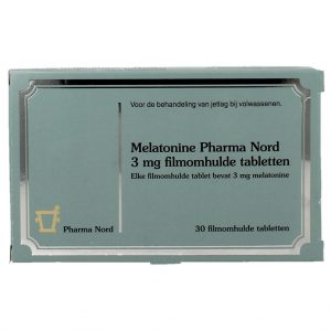 Pharma Nord Melatonine 3mg Tabletten