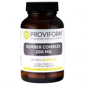 Proviform Gember Complex V-Capsule 60st