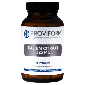 Proviform Kalium Citraat 225mg Vegicaps
