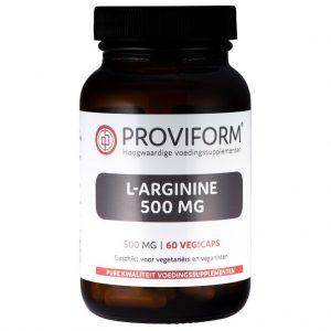 Proviform L-arginine 500mg Vegicaps