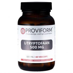 Proviform L-Tryptofaan 500mg Vegicaps