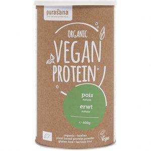 Purasana Vegan Protein Poeder Erwt Naturel