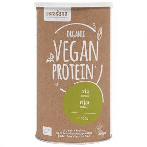 Purasana Vegan Protein Poeder Rijst Naturel