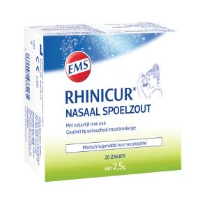 Rhinicur Nasaal Spoelzout Sachets