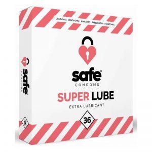 Safe Super Lube Extra Lubricant Condooms