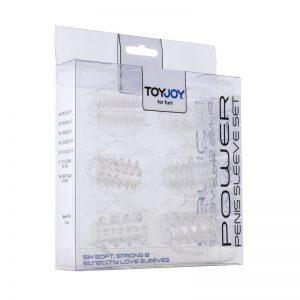 Toyjoy Power Penis Sleeve Set Clear