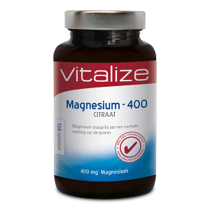 Vitalize Magnesium-400 Citraat Tabletten