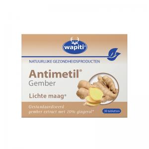 Wapiti Antimetil Gember Tabletten