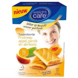 Weight Care Fruitreep Appel, Perzik en Abrikoos