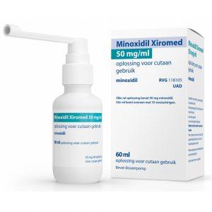 Xiromed Minoxidil 50mg/ml Oplossing voor Cutaan Gebruik
