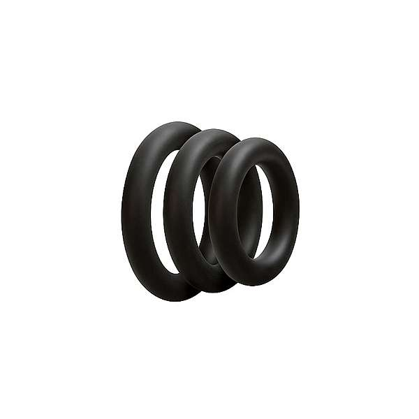 3 C-ring Set - Thick - Black
