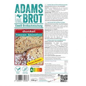 Adams Brot Broodmix Dunkel