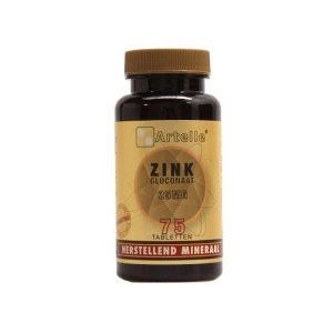 Artelle Zink Gluconaat 25mg Tabletten