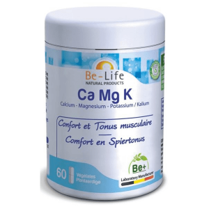 Be-Life Ca Mg K Capsules