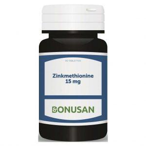 Bonusan Zinkmethionine 15mg Capsules