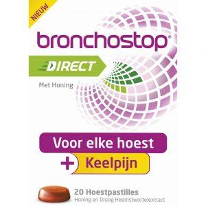 Bronchostop Direct Hoestpastilles met Honing