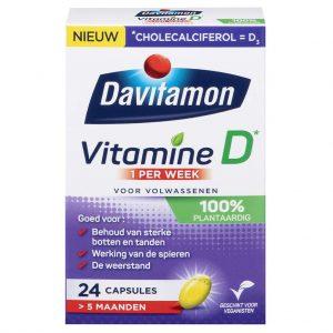 Davitamon Vitamine D - 1 per week - 100% Plantaardig