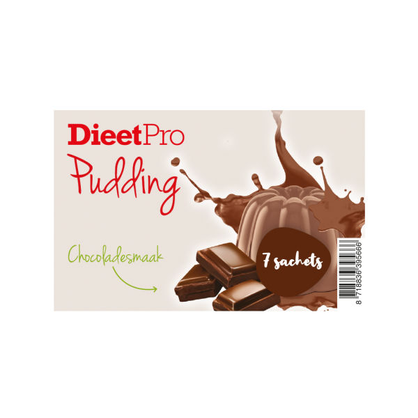 DieetPro Pudding Box Chocolade