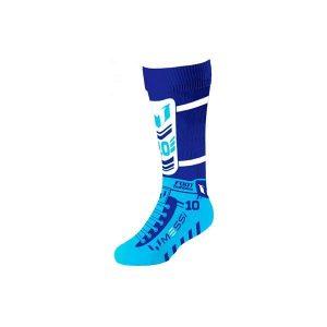 Foot Bubbles Jumbo Socks Messi Blue