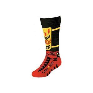 Foot Bubbles Jumbo Socks Messi Orange