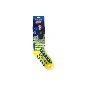 Foot Bubbles Jumbo Socks Messi Yellow