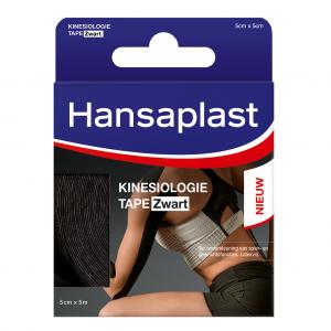 Hansaplast Kinesiologie Tape Zwart