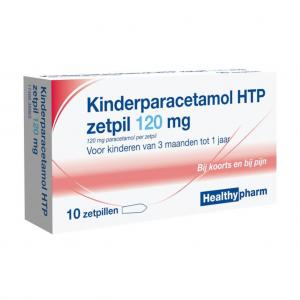 Healthypharm Kinderparacetamol Zetpil 120mg