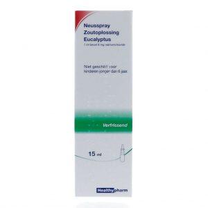 Healthypharm Neusspray Zoutoplossing Eucalyptus