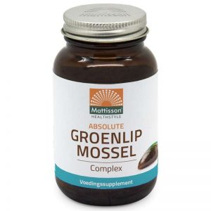 Mattisson HealthStyle Absolute Groenlipmossel Complex Tabletten