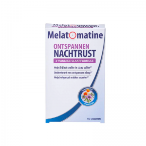 Melatomatine Ontspannen Nachtrust Tabletten