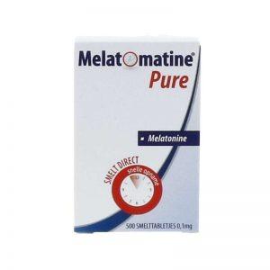 Melatomatine Pure Melatonine Smelttabletjes