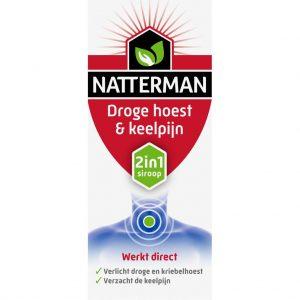 Natterman Droge Hoest + Keelpijn 2in1 Siroop