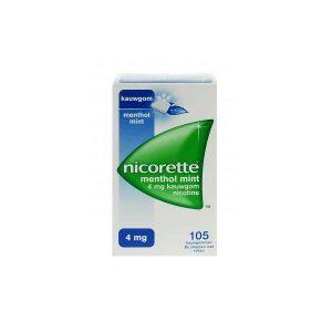 Nicorette kauwgom menthol mint
