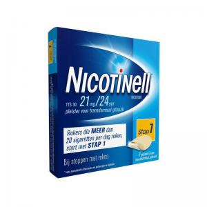 Nicotinell Pleisters TTS 30 21 mg / 24uur