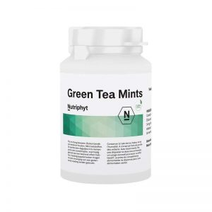 Nutriphyt Green Tea Mints Tabletten
