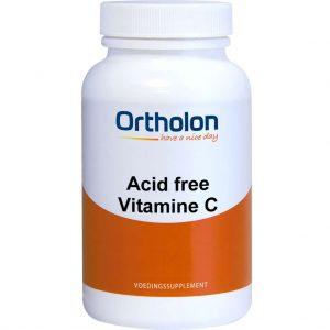 Ortholon Acid Free Vitamine C Capsules