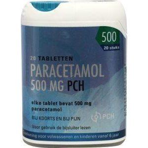 Paracetamol 500mg Clicker Pch
